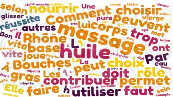 Choisir son huile de massage Bouches du Rhône;