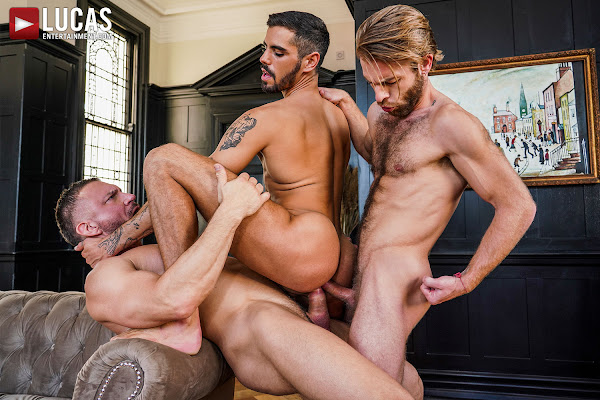 #LucasEntertainment - TOMAS BRAND OWNS VALENTIN AMOUR AND GABRIEL PHOENIX