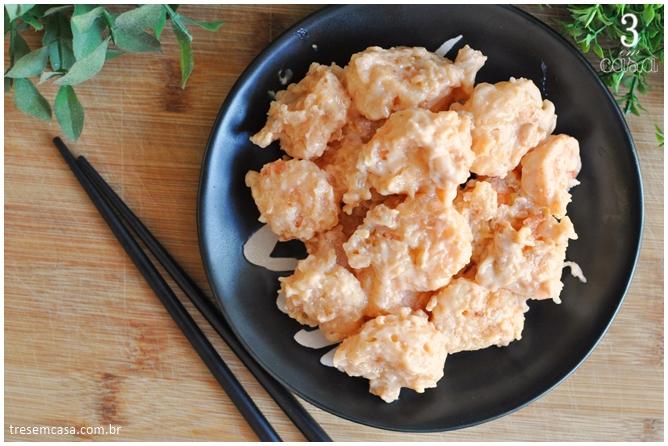 receita de camarão empanado japonês