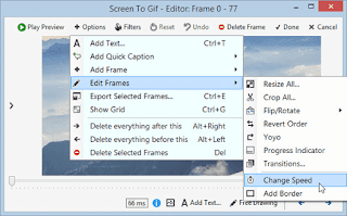 تنزيل برنامج تصوير شاشة الكمبيوتر بصورة متحركة ScreenToGif