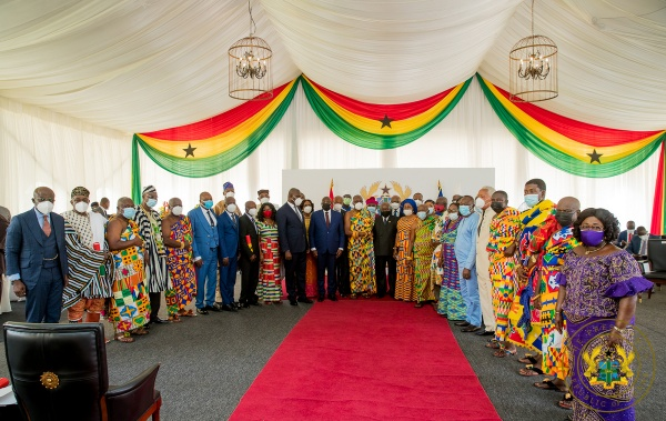"""""""Be Proactive Partners In Nation-Building"""" – President Akufo-Addo To Council Of State"""
