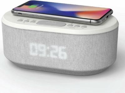 Wekkerradio als draadloze oplader