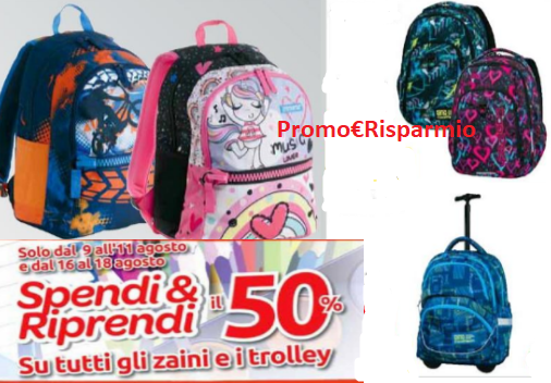 nuovo prodotto 2b50c 1fff5 PROMO€RISPARMIO: Carrefour ''Spendi&Riprendi'' il 50% su ...
