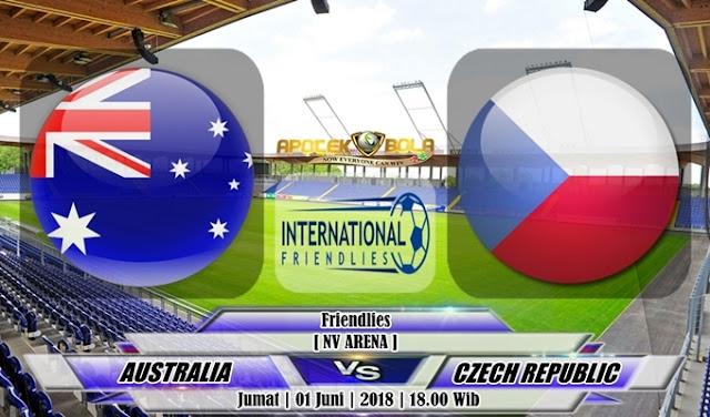 Prediksi Australia vs Czech Republic 1 Juni 2018
