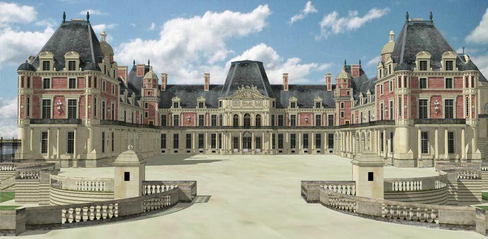 Le Bâtiment: Fiche Historique, les Châteaux. Le Château de Meudon