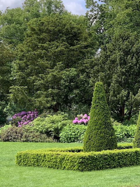 Slottsparken - en oase i hovedstaden vår, Oslo. Blomsterarrngement i et bed IMG_0210-min