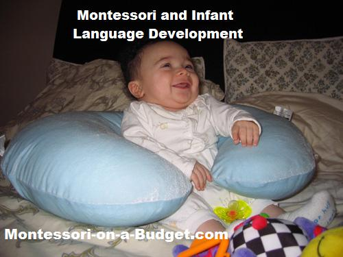 Montessori and Infant Language Development at {Montessori on a Budget}