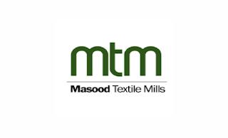recruitment@masoodtextile.com - Masood Textile Mills Ltd MTM Jobs 2021 in Pakistan