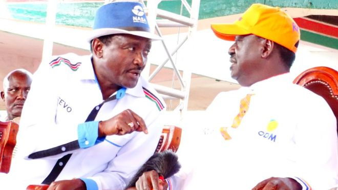 Wahusika Wakuu Mpango wa Kumuapisha Odinga Kuongoza Kenya