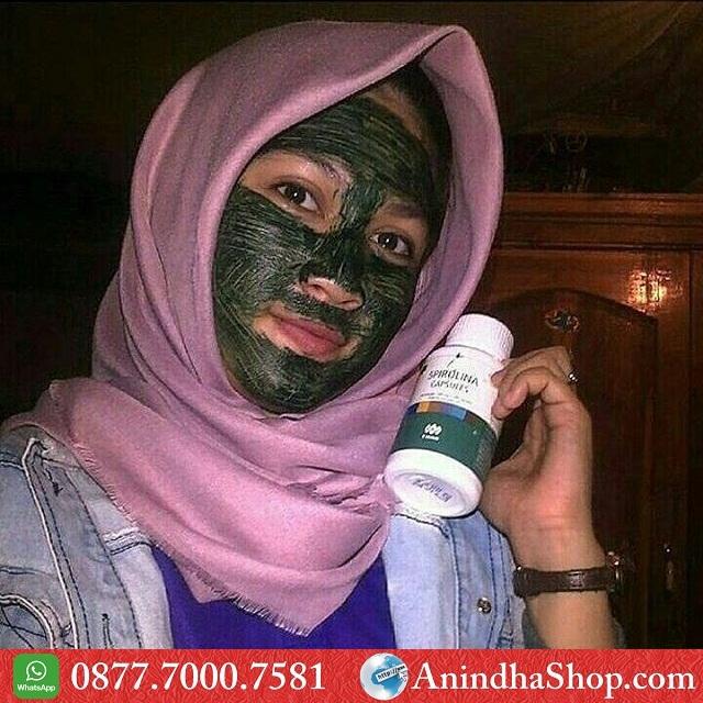 Masker Spirulina Tangerang