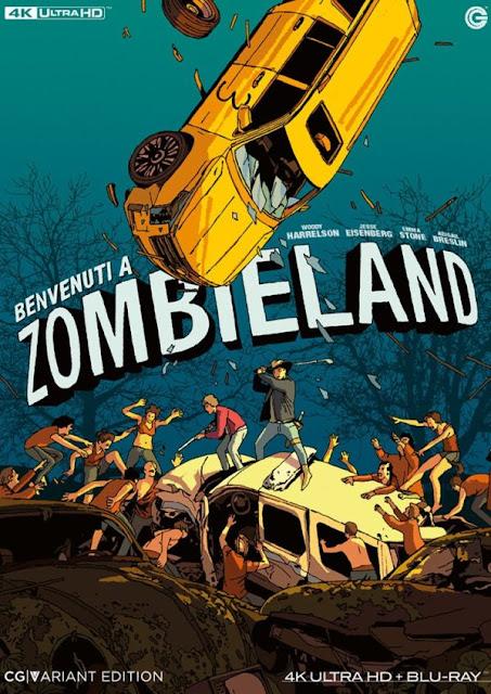 Benvenuti a Zombieland Variant 4K