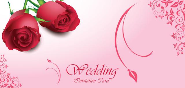 Vectr Bông Hoa Hồng in thiệp cưới