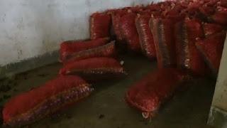 प्याज की कीमतें बढ़ीं तो, गोदाम का ताला काट कर साढ़े सात लाख का प्याज चुरा ले गए