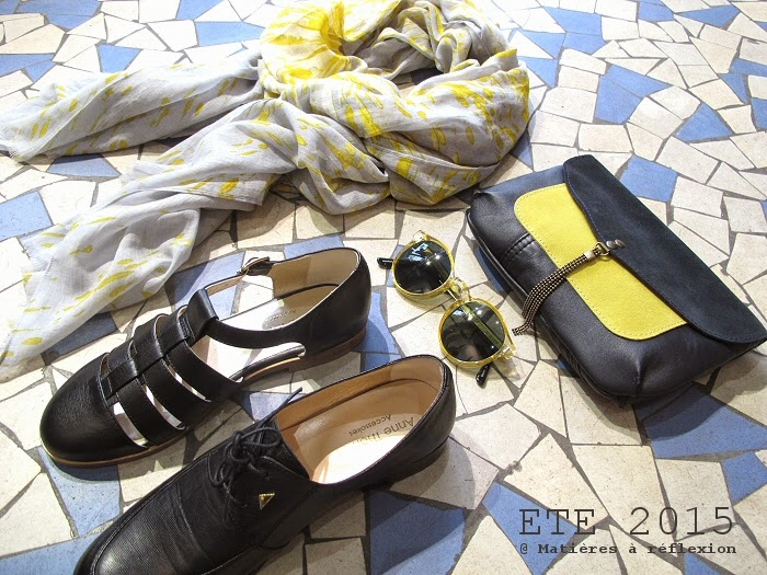Sandales Anne Thomas chaussures façon méduses