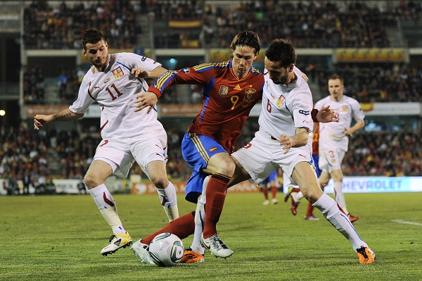 Spanyol vs Rep. Ceko