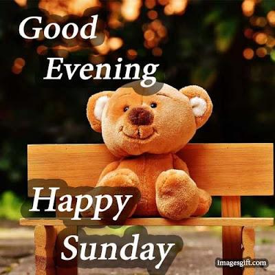 happy sunday images good evening
