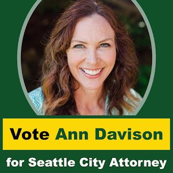 Ann Davison for Seattle City Attorney