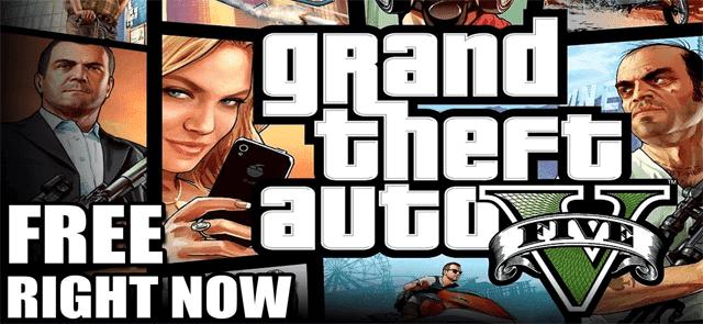 سارع لتحميل لعبة جاتا 5 GTA للكمبيوتر مجانا من موقع Epic Games - عرض محدود