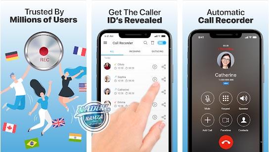 تطبيق مسجل المكالمات تلقائياً