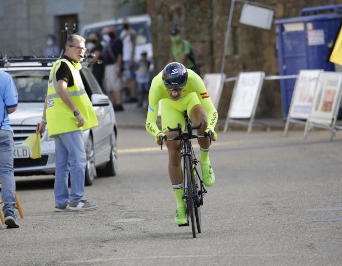 Mauricio Moreira ganó la primera etapa de la Vuelta a Zamora