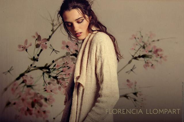 Ropa tejida otoño invierno 2016 Flor Llompart. Moda tejidos invierno 2016.