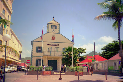 Court House in Philipsburg, San Martin