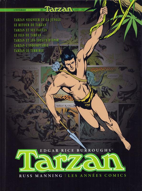 Tarzan - les années comics de Russ Manning et Gaylord Dubois, inspiré des romans de Edgar Rice Burroughs, aux éditions Graph Zeppelin