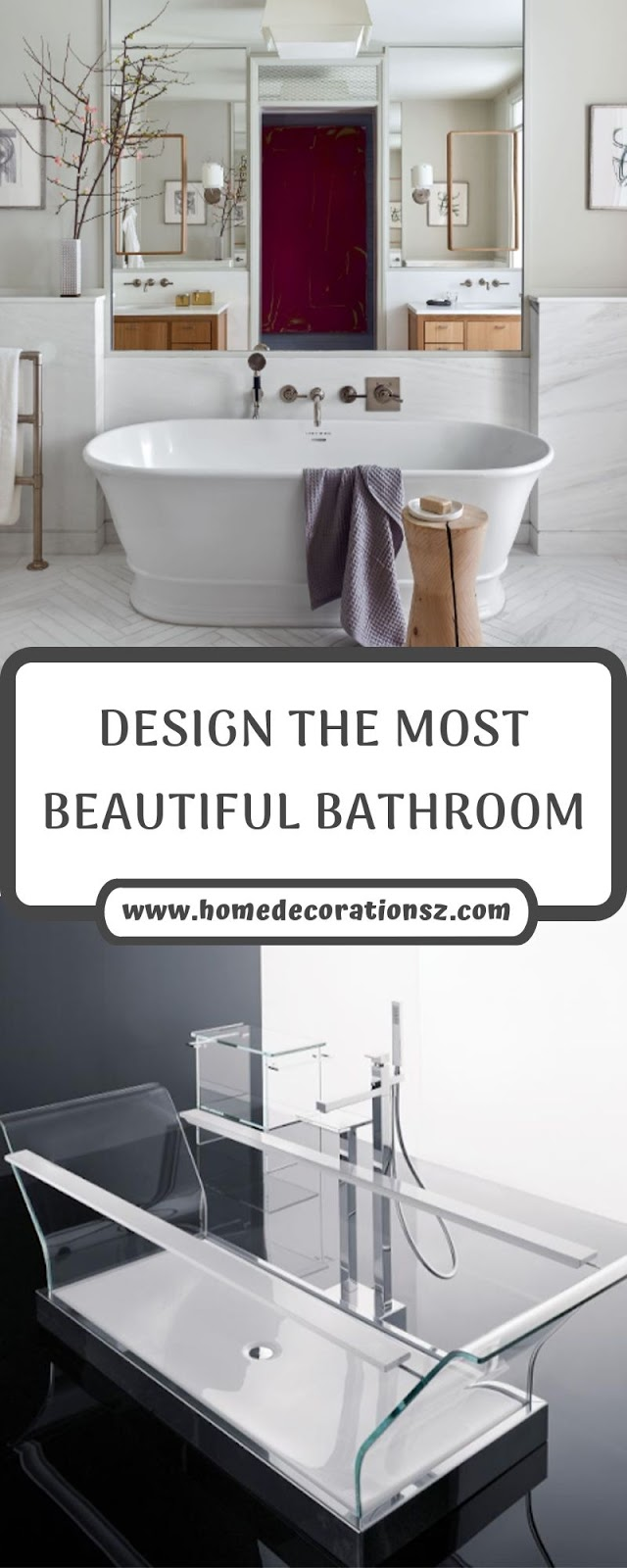 DESIGN THE MOST BEAUTIFUL BATHROOM