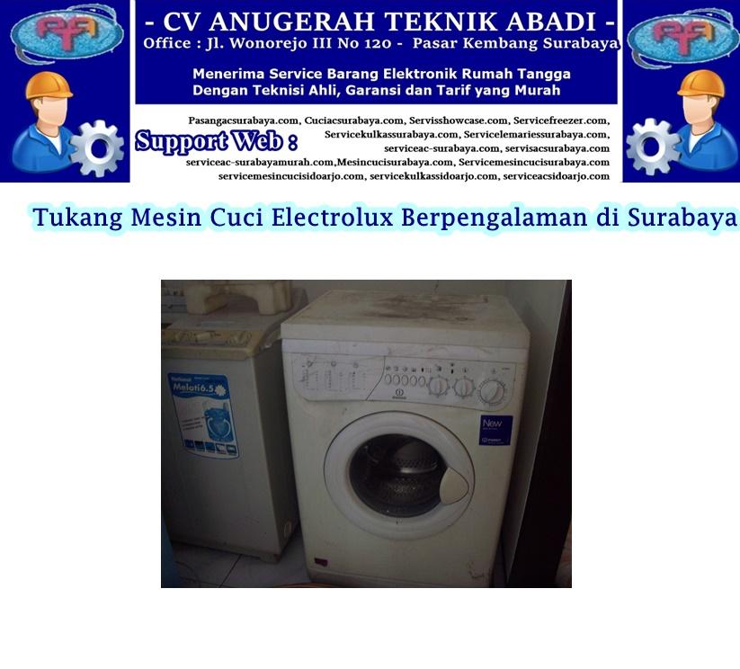 Service Mesin cuci Electrolux: Tukang Mesin Cuci