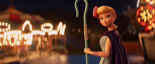 Toy Story 4 Bo Peep at Carnival