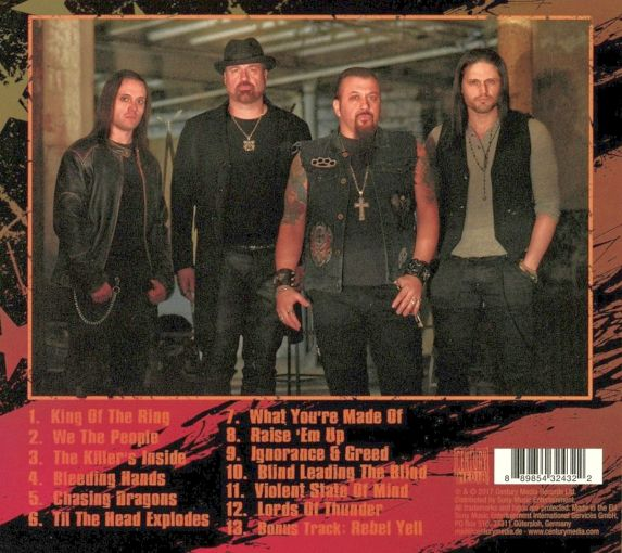 ADRENALINE MOB - We The People [Special Edition Digipak] (2017) back