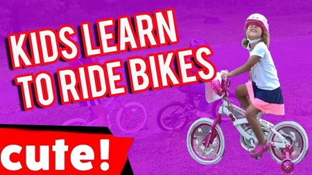 Kids Learn To Ride Bikes | Funniest Kid Fails Compilation