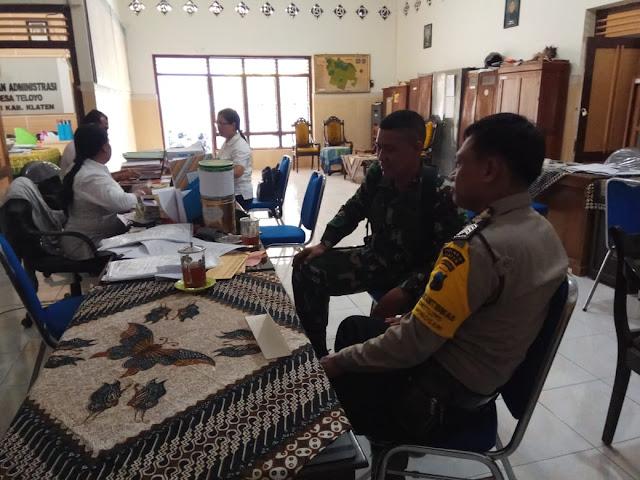 TNI Selalu Jalin Sinergitas Dengan Aparat Kewilayahan