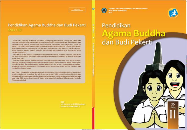Download Gratis Buku Siswa Pendidikan Agama Budha Dan Budi Pekerti Kelas 2 SD Kurikulum 2013 Format PDF
