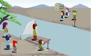 Game qua sông thử thách trí tuệ hay