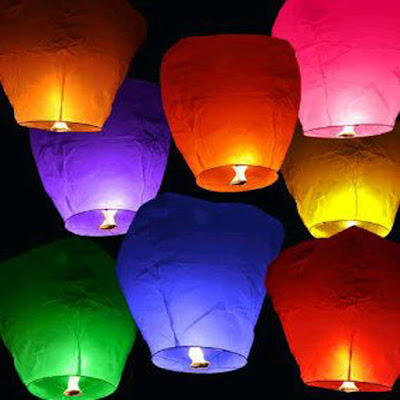 Lampion Terbang / Sky Lantern / Flying Lantern