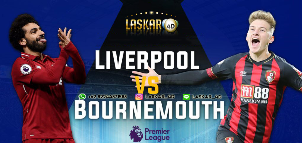 Prediksi Liverpool vs Bournemouth 07 Mar 2020