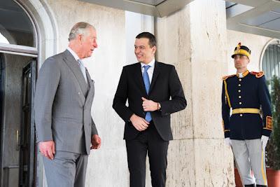 Károly herceg, brit királyi család, Románia, Sorin Grindeanu, diplomácia,