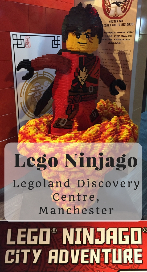 Lego Ninjago at Legoland Discovery Centre, Manchester