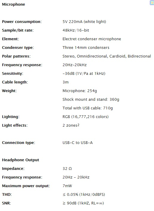 يتميز ميكروفون HyperX QuadCast S USB بإضاءة RGB