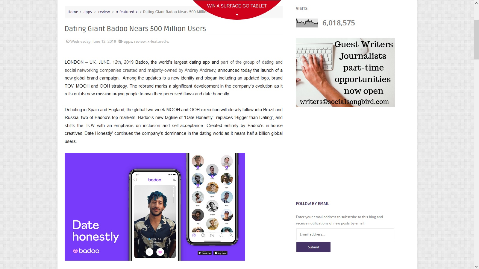 Badoo blog  🎉 Olamide Badoo's Blog  2019-04-30