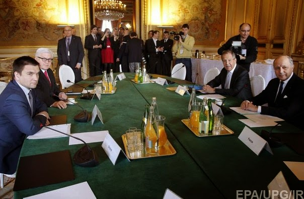 "The negotiations between ""Normandy Four"" Foreign Ministers in Paris ended without any results"