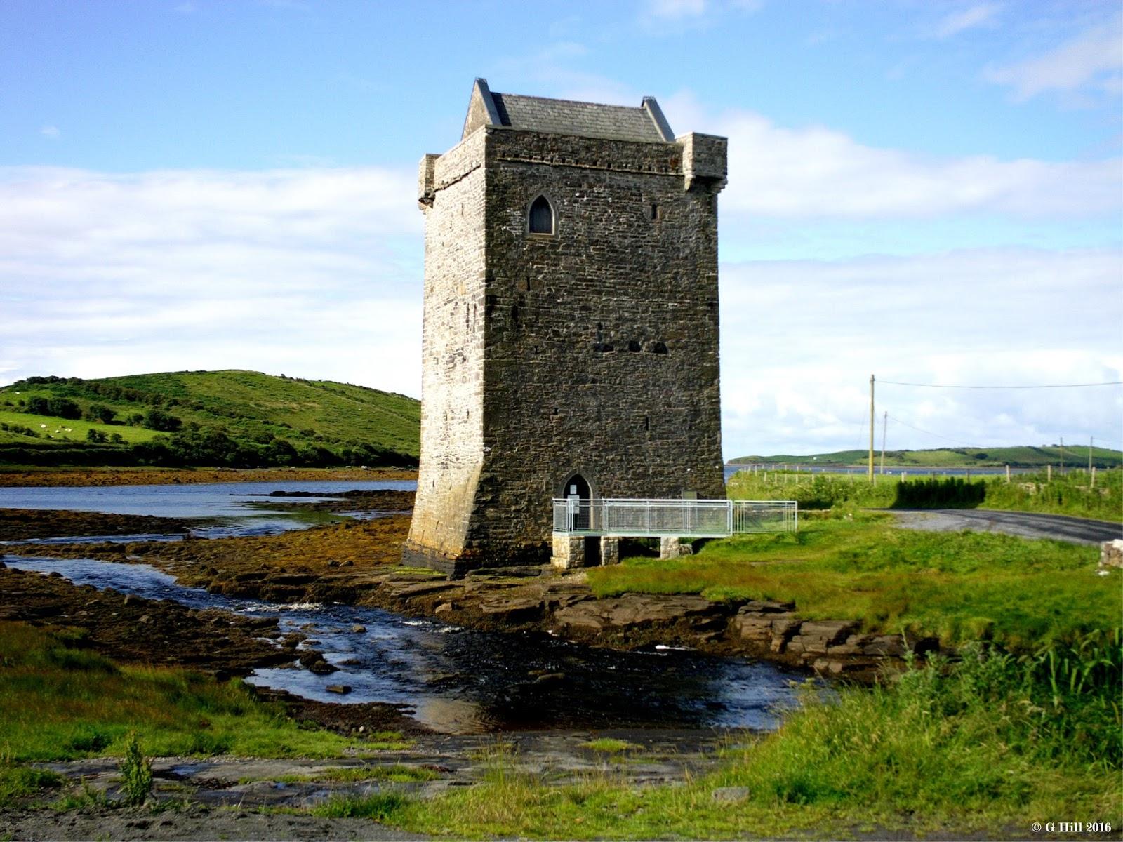 Ireland In Ruins: Rockfleet Castle Co Mayo