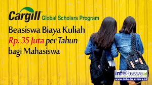 Beasiswa bagi Mahasiswa: Cargill Global Scholars Program