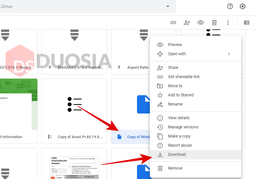 limit google drive download