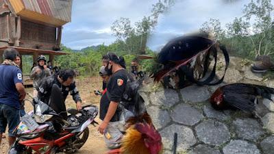 Antisipasi Judi Sabung Ayam, Tim Singgallung Polres Toraja Utara Patroli