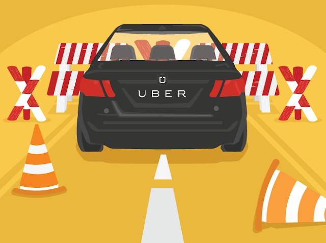 Uber roadbloacks in india