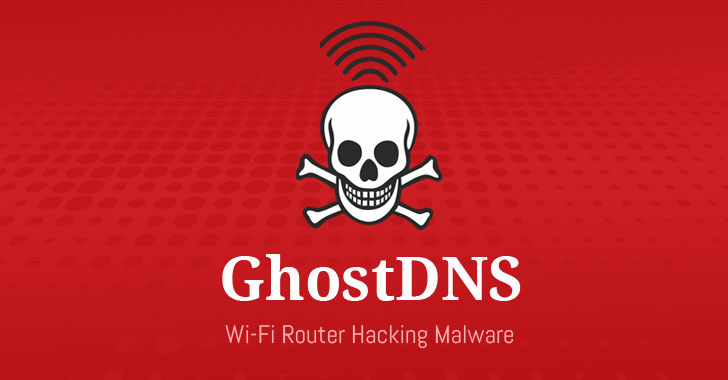 ghostdns botnet router hacking DNS changer malware