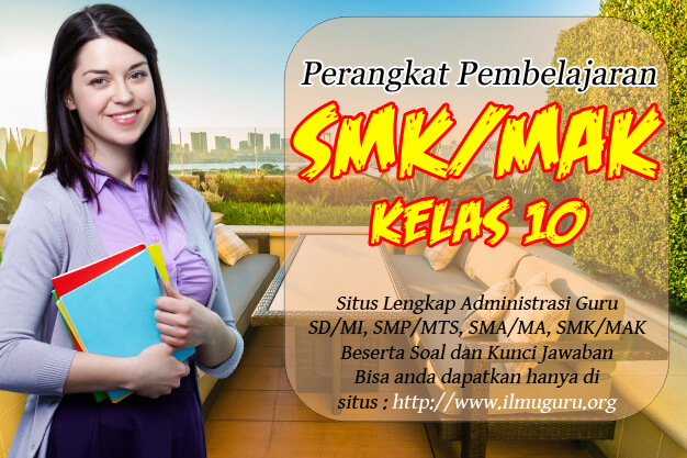 Administrasi Guru SMK Mapel PKN Kelas 10