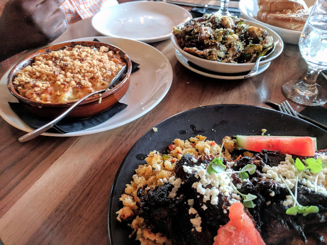 food at Steelbach at Armature Works in Tampa